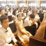 105 Anak Menerima Komuni Pertama Untuk Menjadi Anak Katolik Yang Bermutu