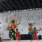 Grup Tari Indonesia di Philadelphia Tampil di Hadapan Paus Fransiskus