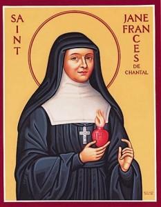 Santa Yohanna Fransiska Fremio de Chantal, Janda
