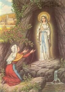Santa-Perawan-Maria-dari-Lourdes