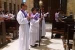 Umat Paroki Santo Yoseph Palembang Mengikuti Ibadat Jalan Salib