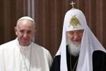 Paus Fransiskus dan Pemimpin Gereja Ortodoks Rusia serukan persatuan