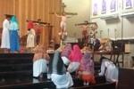 OMK Santo Yoseph Palembang Pentaskan Drama Kisah Sengsara Yesus Kristus