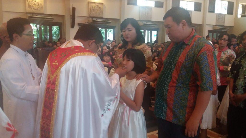 Yesus Kristus Tinggal Dalam Diri 111 Anak Santo Yoseph Palembang