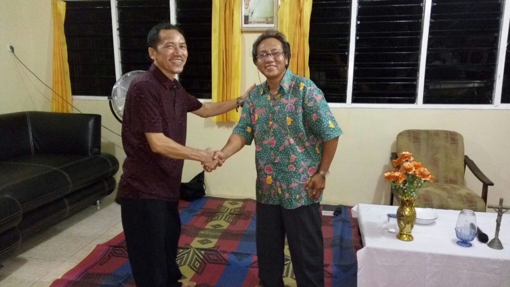 F.X Asan Ketua Lingkungan Santo Antonius Periode 2016-2019