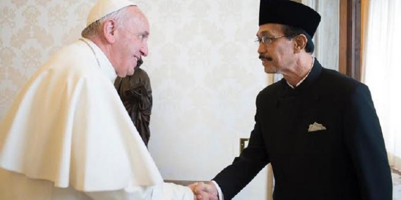 Paus Fransiskus : Saya Senang jika Bisa Berkunjung ke Indonesia