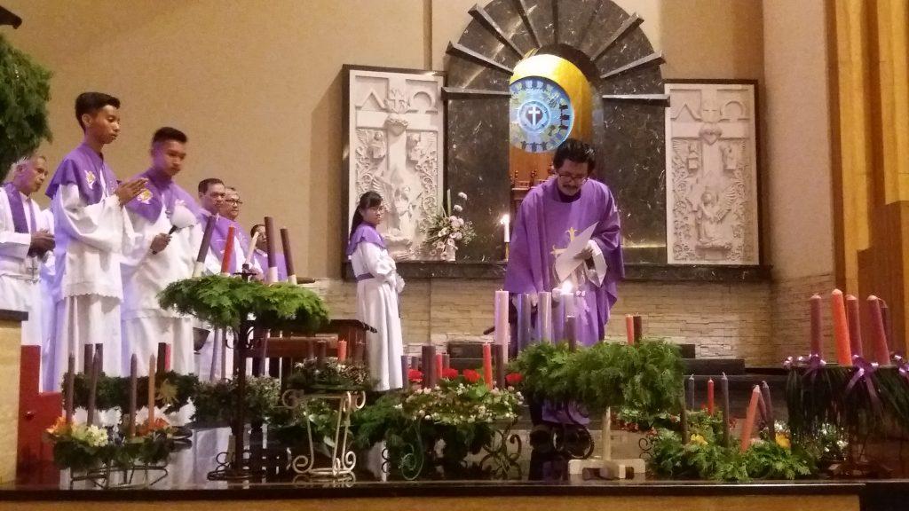 Umat Paroki Santo Yoseph Memasuki Masa Adven 2016