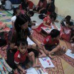 Sekolah Minggu Santo Louis Palembang Mengadakan Aneka Lomba