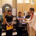 Lingkungan Pater Leo Dehon Juara Pembinaan Lingkungan
