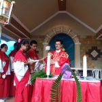 Umat Santo Yoseph  Mengenang Minggu Sengsara Yesus