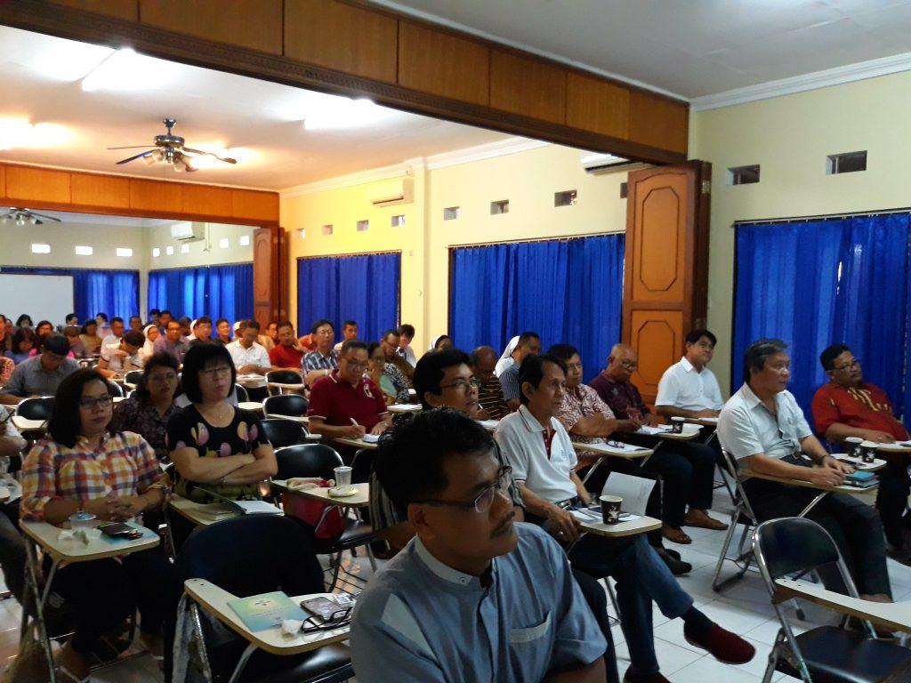 Pembekalan DPP Baru Santo Yoseph Palembang