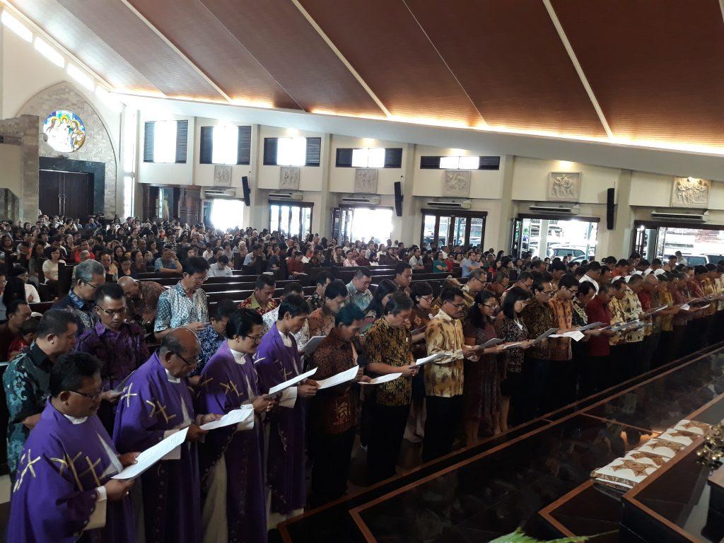 Pelantikan Pengurus Baru DPP Santo Yoseph Palembang