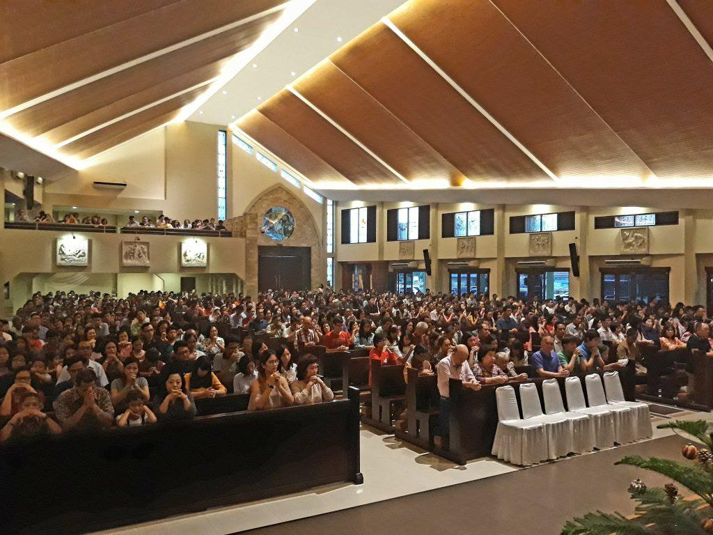 Misa Tutup Tahun 2017 Di Gereja Santo Yoseph