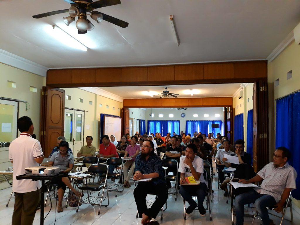 Rapat DPP Bersama Pengurus Lingkungan, Wilayah & Kelompok Kategorial