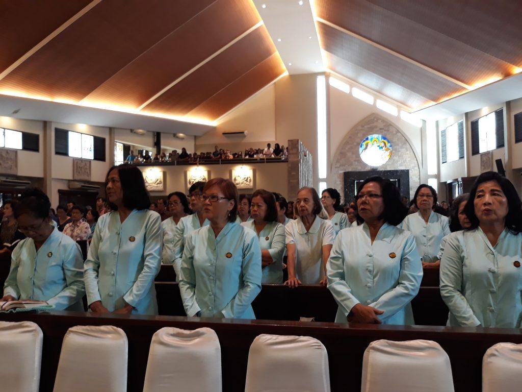 Pelantikan Pengurus Baru PWK Santa Monika Cabang Santo Yoseph