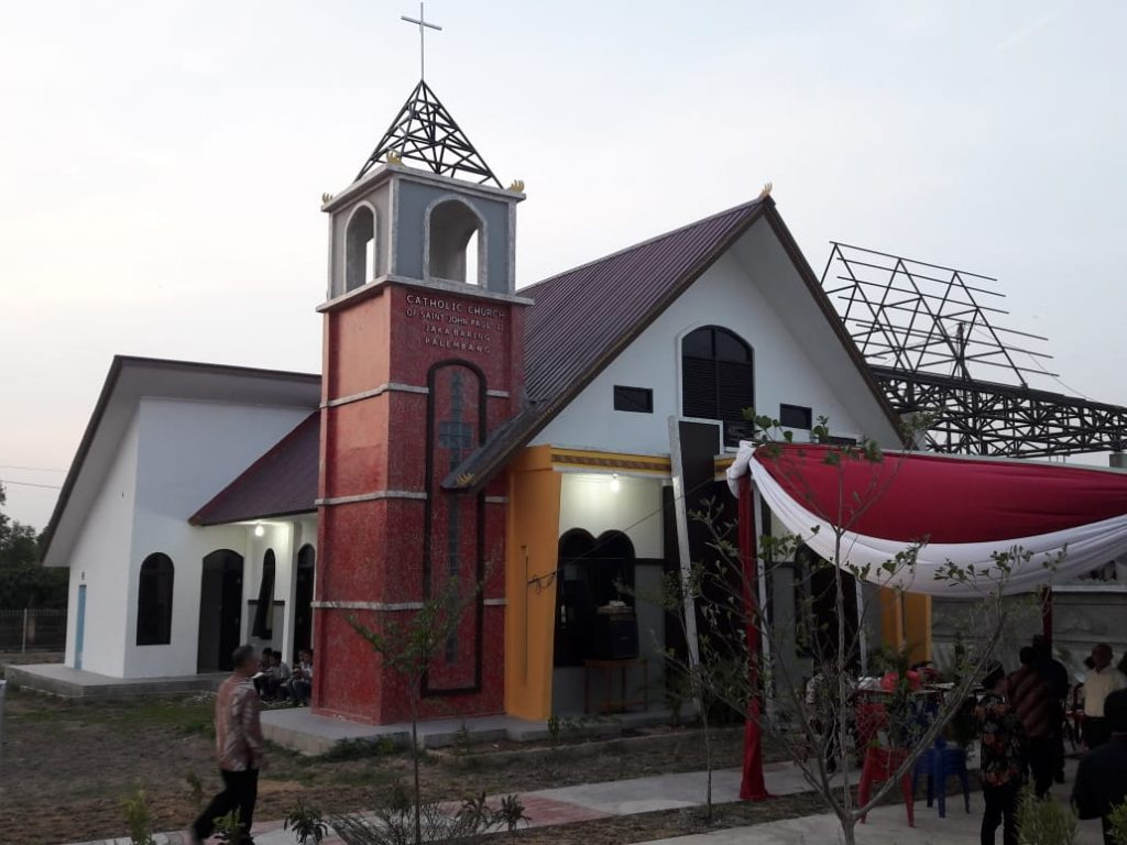 Gereja Kecil Saint John Paul II  Diresmikan