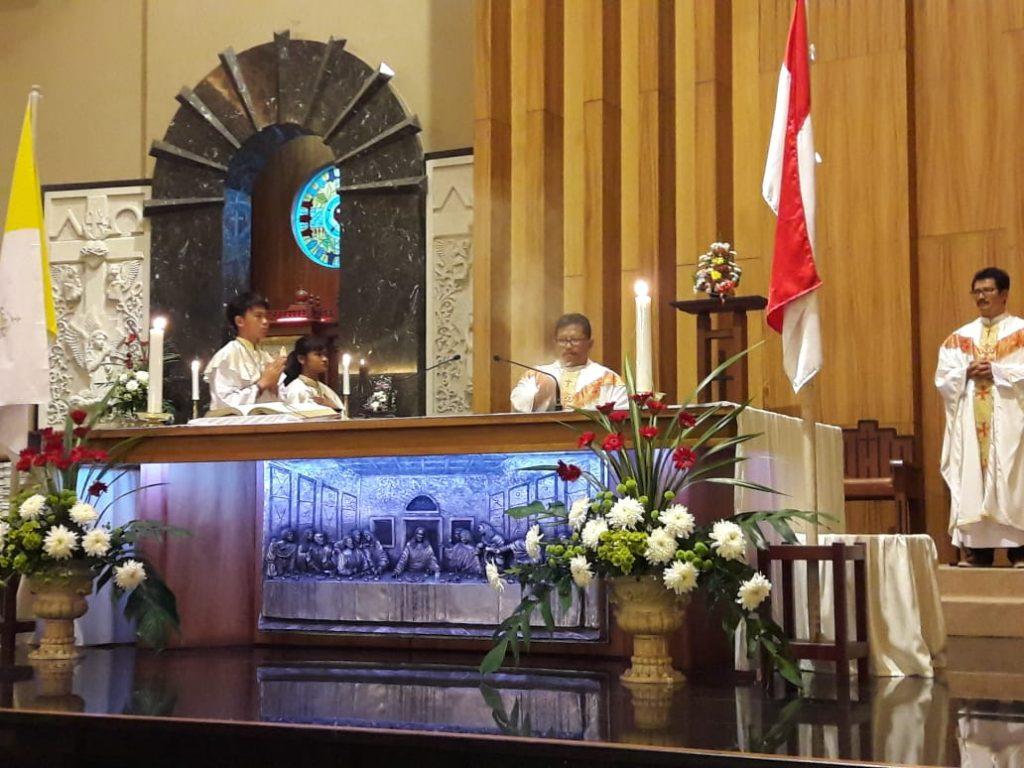 Misa dan Perlombaan Dalam Rangka Perayaan HUT Ke 37 RI