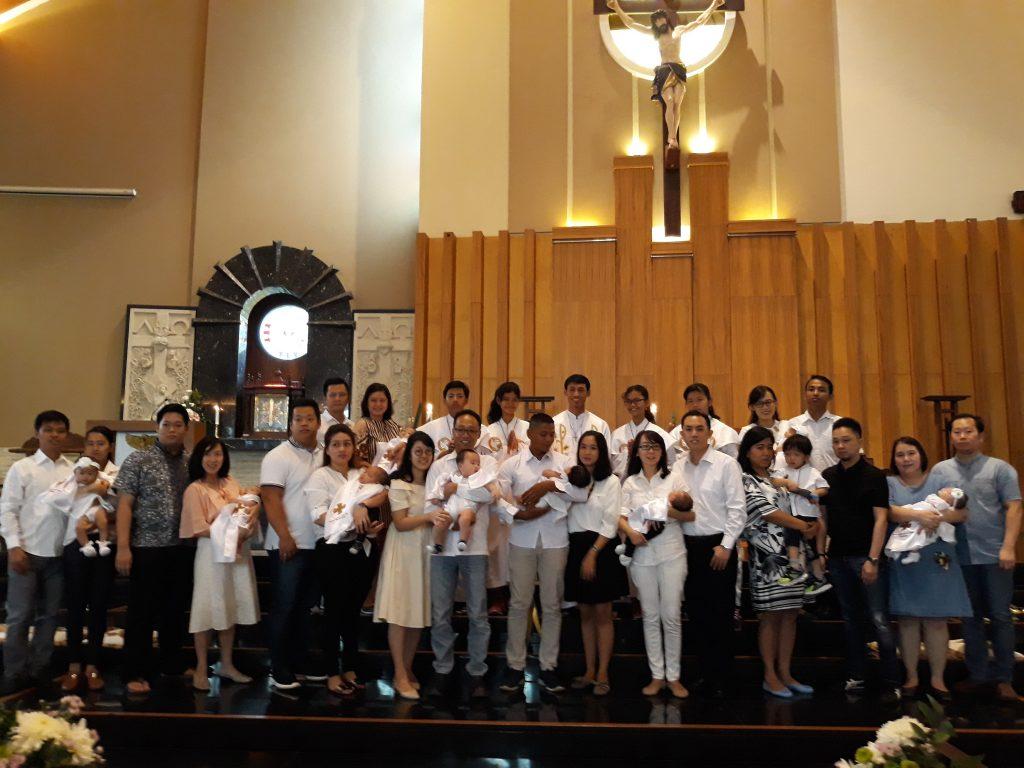 10 Baptisan Baru Menjadi Anak Allah
