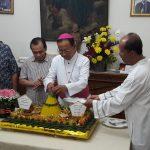 Misa Syukur Perayaan 25 Tahun Tahbisan Uskup Aloysius Sudarso, SCJ