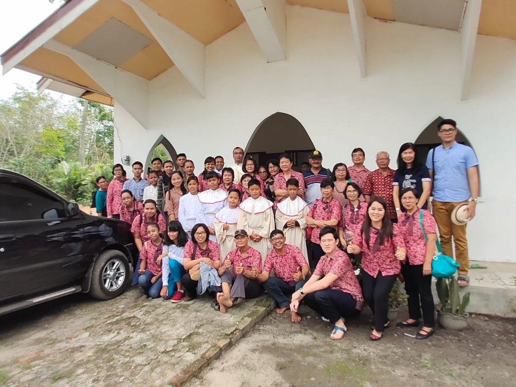 Pelayanan & Rekreasi Umat Wilayah IX ke Banyuasin