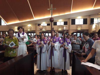 Setia Dalam Hidup Kristus di Jalan Salib