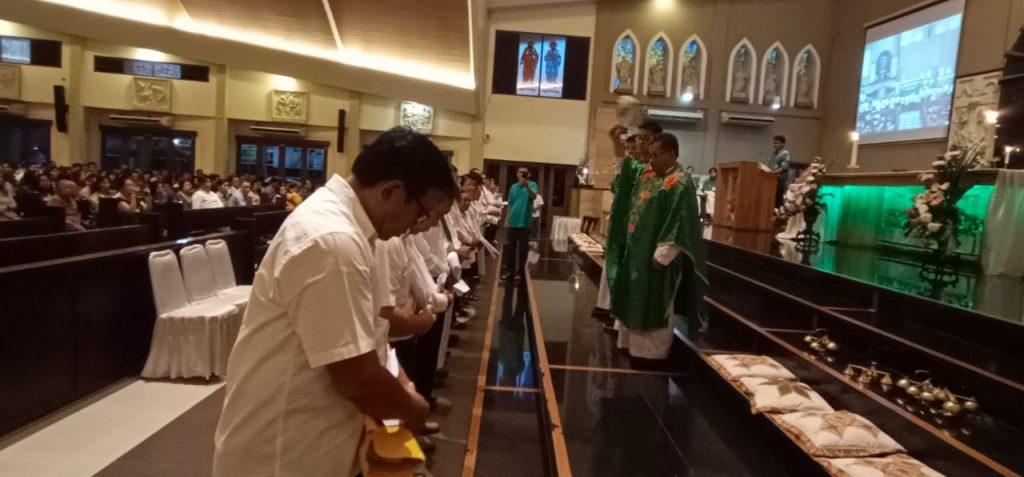 Pelantikan Komunitas Evangelisasi