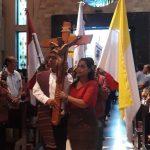 Kirab Salib SYD di Dekanat 1 KAPal