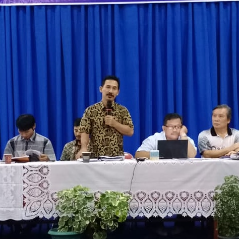 Rapat Pleno DPP Santo Yoseph Palembang