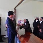 Presiden Jokowi kunjungi biarawati Katolik di Timor Leste