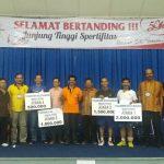 Wilayah 11  Juara  Tim Putera dan Wilayah 10 Juara Ganda Puteri
