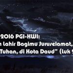 Pesan Natal Bersama PGI dan KWI 2016