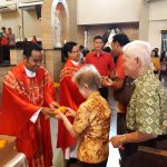Perayaan Misa Syukur Imlek 2018