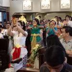 Misa Inkulturasi Menyambut BKSN 2019