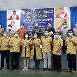 Pisah Sambut Para Romo Santo Yoseph Palembang