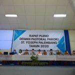 Rapat Pleno DPP Santo Yoseph Tahun 2020